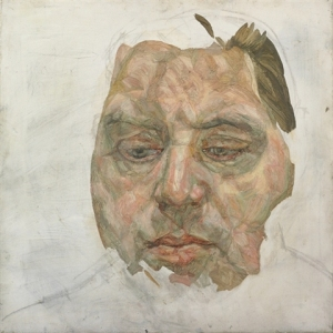 "Lucian Freud's ""Francis Bacon,"" 1956-1957, oil on canvas"