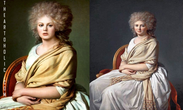 Adele / Jacques-Louis David - Anne-Marie-Louise Thélusson, Comtesse de Sorcy