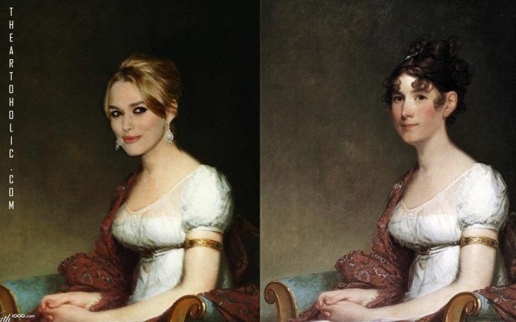 Kiera Knightly  / Gilbert Stuart, Mrs. Harrison Gray Otis