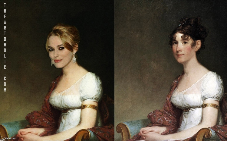 Kiera Knightly  / Gilbert Stuart, Mrs. Harrison Gray Otis