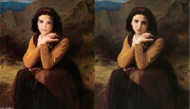 Penelope Cruz / William Bouguereau,