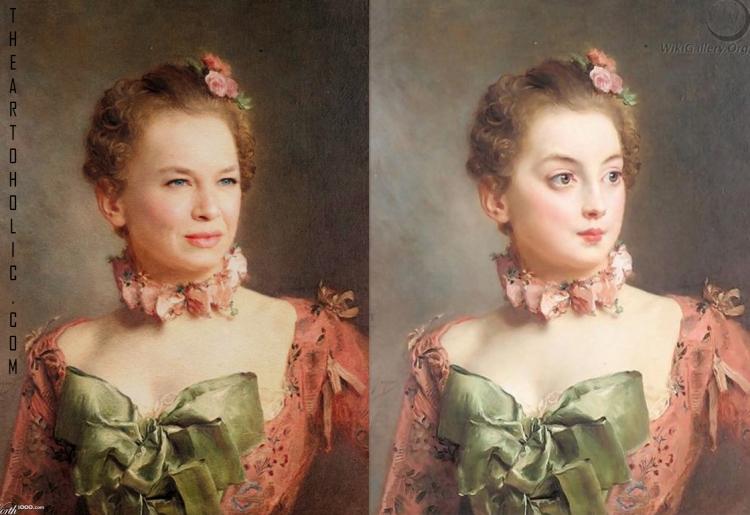 Renee Zellweger / Gustave Jean Jacquet, Portrait of a Lady
